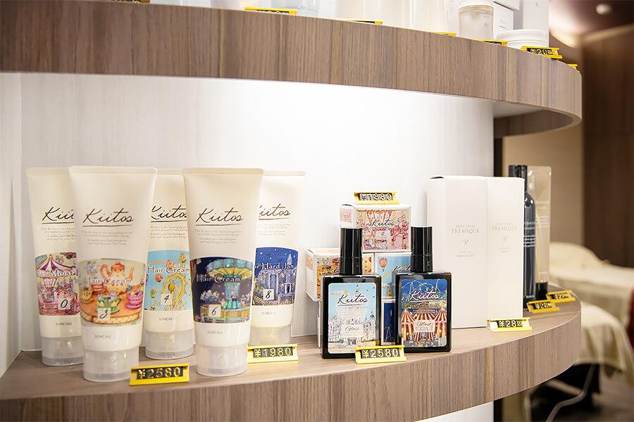 画像:店舗販売商品
